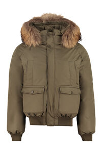 Mistral hooded bomber-style down jacket, Bomber jackets Pyrenex man