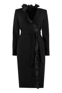 Suez frill wrap-dress, Midi dresses Max Mara woman