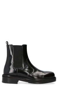 Leather Chelsea boots, Chelsea boots AMI PARIS man