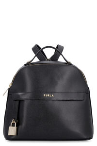 Piper leather backpack, Backpack Furla woman