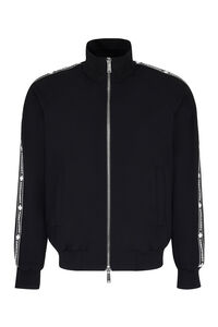 Wool zipped jacket, Bomber jackets Dsquared2 man