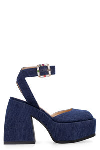 Bulla Sofia denim slingback, High Heels Nodaleto woman