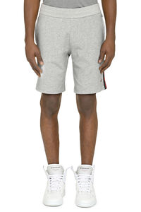 Fleece shorts, Shorts Moncler man