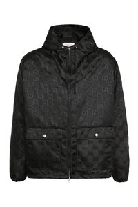 Hooded jacket - Gucci Off The Grid, Raincoats And Windbreaker Gucci man