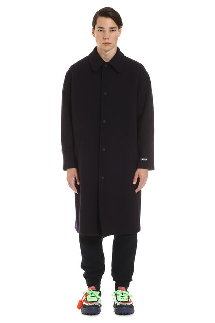 Virgin wool coat, Overcoats MSGM man