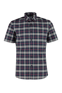 Checked cotton shirt, Short sleeve Shirts Burberry man