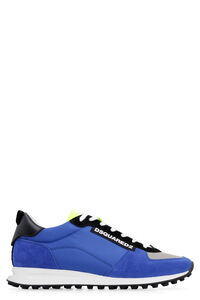 New Runner Hiking techno fabric and suede sneakers, Low Top Sneakers Dsquared2 man