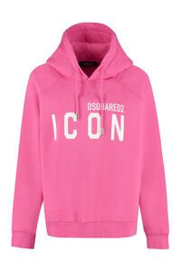 Icon cotton hoodie, Hoodies Dsquared2 woman