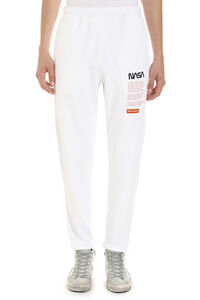 Nasa stretch cotton track-pants, Track Pants Heron Preston man