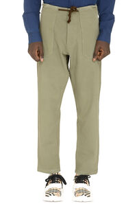 Nova cotton-twill bush-trousers, Chinos Nanushka man