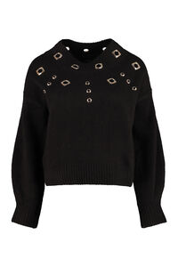 Tagikistan long sleeve crew-neck sweater, Crew neck sweaters Pinko woman