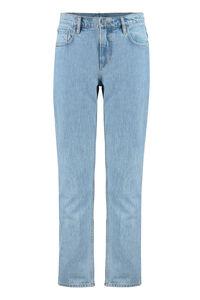 5-pocket straight-leg jeans, Straight jeans Burberry man