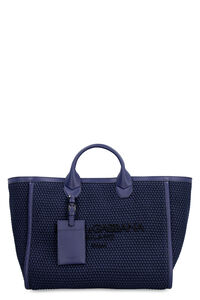 Canvas and leather shopping bag, Tote bags Dolce & Gabbana woman