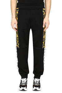 Contrasting side stripes track-pants, Track Pants Versace man