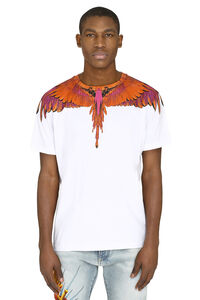 Crew-neck cotton T-shirt, Short sleeve t-shirts Marcelo Burlon County of Milan man