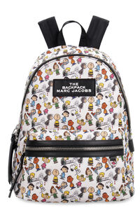 Peanuts x Marc Jacobs - Zaino in nylon con patch, Zaini Marc Jacobs woman