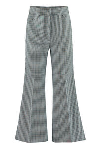 Micro houndstooth trousers, Flared pants 2 Moncler 1952 woman