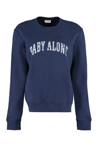 Cotton crew-neck sweatshirt, Sweatshirts Saint Laurent woman