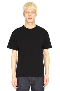 Crew-neck cotton T-shirt, Short sleeve t-shirts Bottega Veneta man