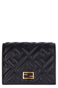 All over logo leather wallet, Wallets Fendi woman