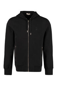 Full zip hoodie, Zip through Alexander McQueen man