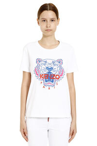 Embroidered cotton T-shirt, T-shirts Kenzo woman
