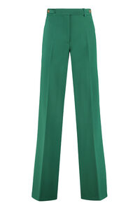 Aral crêpe trousers, Straight Leg pants Pinko woman