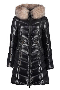Hooded quilted down jacket, Down Jackets Moncler woman