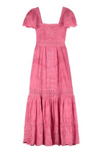Norma embroidered cotton long dress, Maxi dresses LoveShackFancy woman