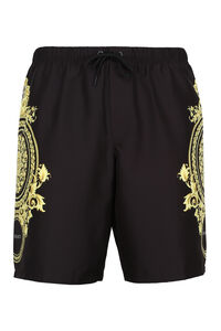 Printed swim shorts, Swimwear Versace man