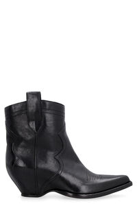 Pointy-toe cowboy boots, Ankle Boots Maison Margiela woman