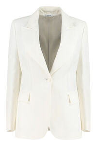 Raisa single-breasted blazer, Blazers Parosh woman