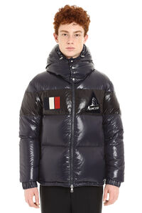 Gary full zip padded hooded jacket, Down jackets Moncler man