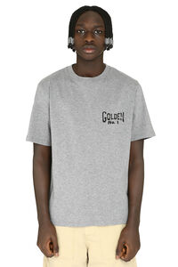 Golden cotton T-shirt, Short sleeve t-shirts Golden Goose man