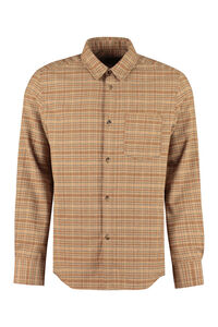 Jhon checked overshirt, Checked Shirts A.P.C. man