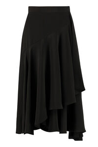 Asymmetric wrap skirt, Wrap skirts L'Autre Chose woman