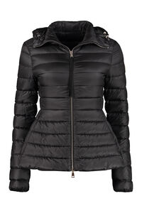 Amethyste hooded short down jacket, Down Jackets Moncler woman