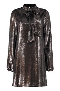 Sequin mini-dress, Mini dresses N°21 woman
