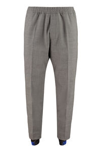 Wool blend trousers, Casual trousers Dsquared2 man