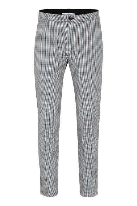 Pantaloni chino Prince in motivo check, Pantaloni Chinos Department 5 man