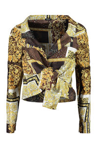 Printed silk shirt, Shirts Versace woman