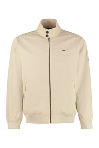 Zippered cotton jacket, Raincoats And Windbreaker Tommy Jeans man