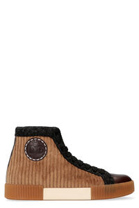 High-top fabric sneakers, High Top Sneakers Dolce & Gabbana man