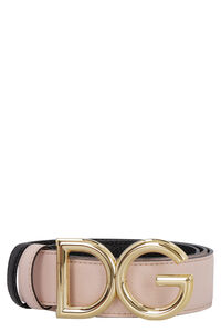 Reversible leather belt, Belts Dolce & Gabbana woman