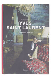 Yves Saint Laurent, A Biography book, Books Rizzoli International woman