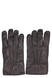 Leather gloves, Gloves Alexander McQueen man