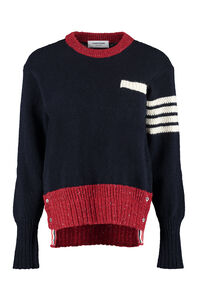 Wool-mohair sweater, Crew neck sweaters Thom Browne woman