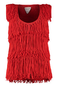 Top with fringes, Blouses Bottega Veneta woman