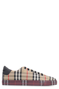 Vintage check motif sneakers, Low Top sneakers Burberry woman