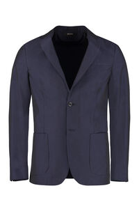 Single-breasted cotton blazer, Single breasted blazers Z Zegna man